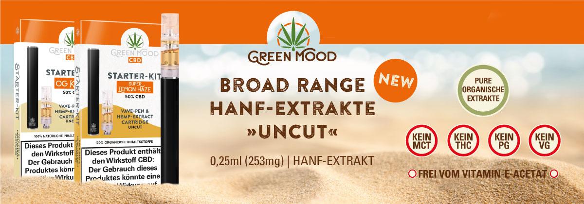Green Mood CBD Extrakte