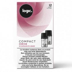 Logic Compact Nachfüllpackung - Kirsche 12mg/ml