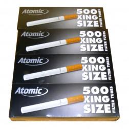 Atomic Gold Line King Size Zigarettenhülsen 500 Stk.