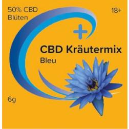 CBD Kräutermix Bleu mit Blauer Lotus